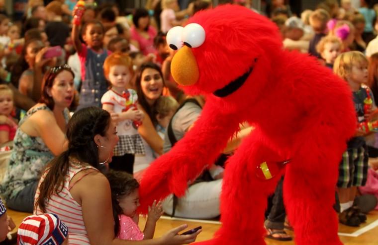 USO Sesame Street Tour 2012