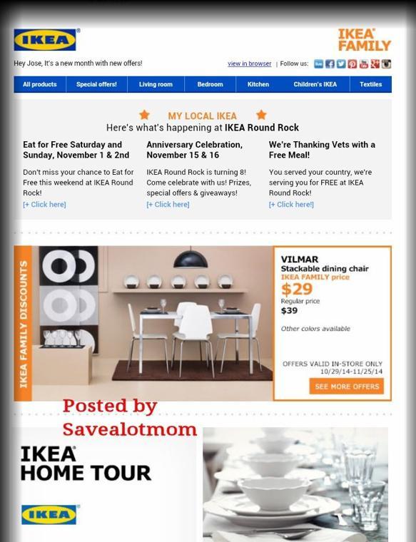 Ikea november offers