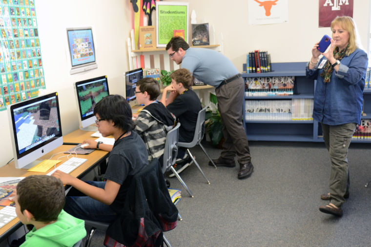 Teen Tech Week at Smith Middle School