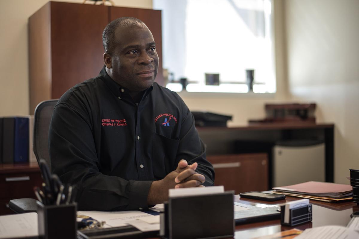 "Killeen Police Chief Charles ""Chuck"" Kimble"