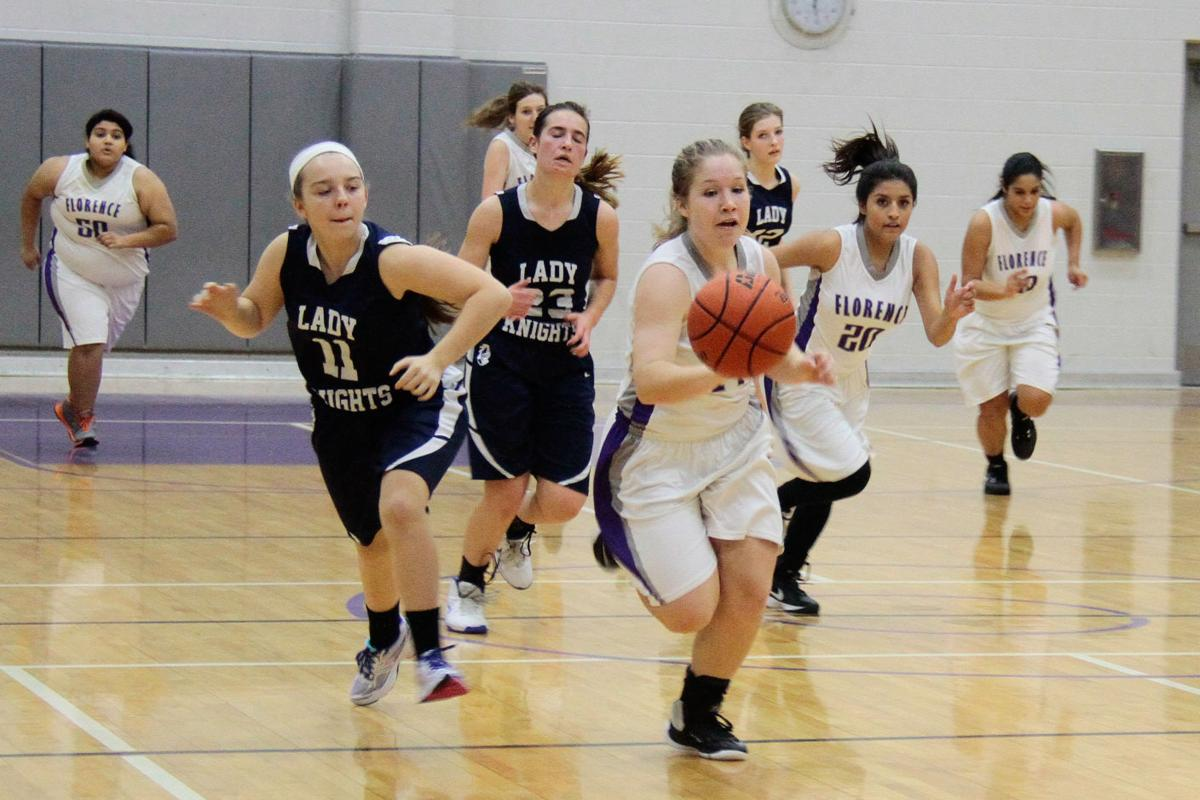 Florence HS Girls BasketBall vs. Hill Country Christian
