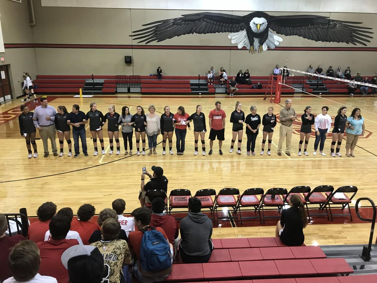 Salado VB Teacher Appreciation Night