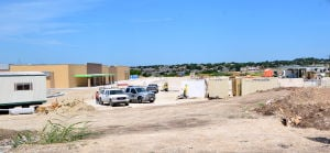 Construction continues on Harker Heights Wal-Mart