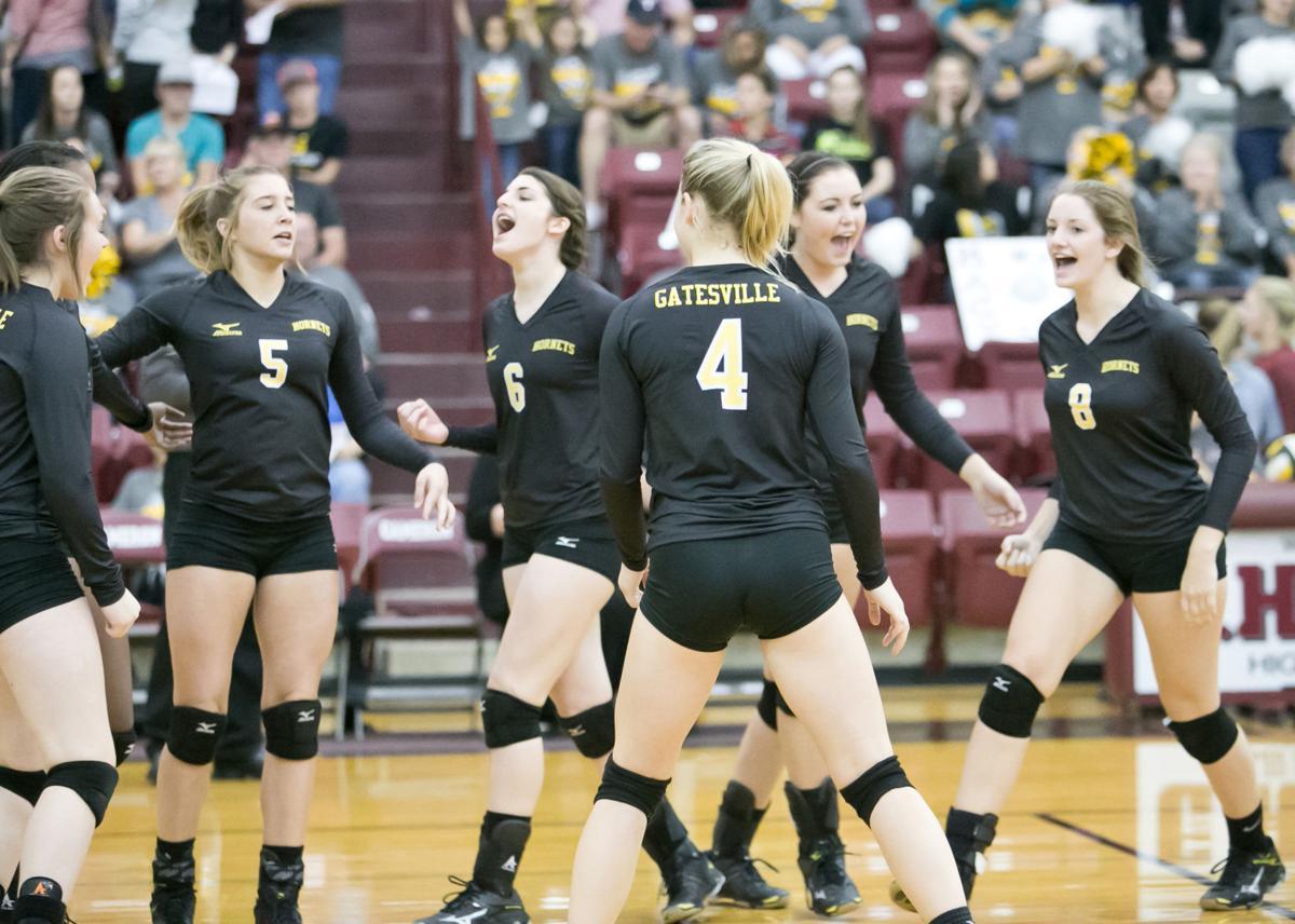 Gatesville v. Madisonville-Volleyball Bi-District