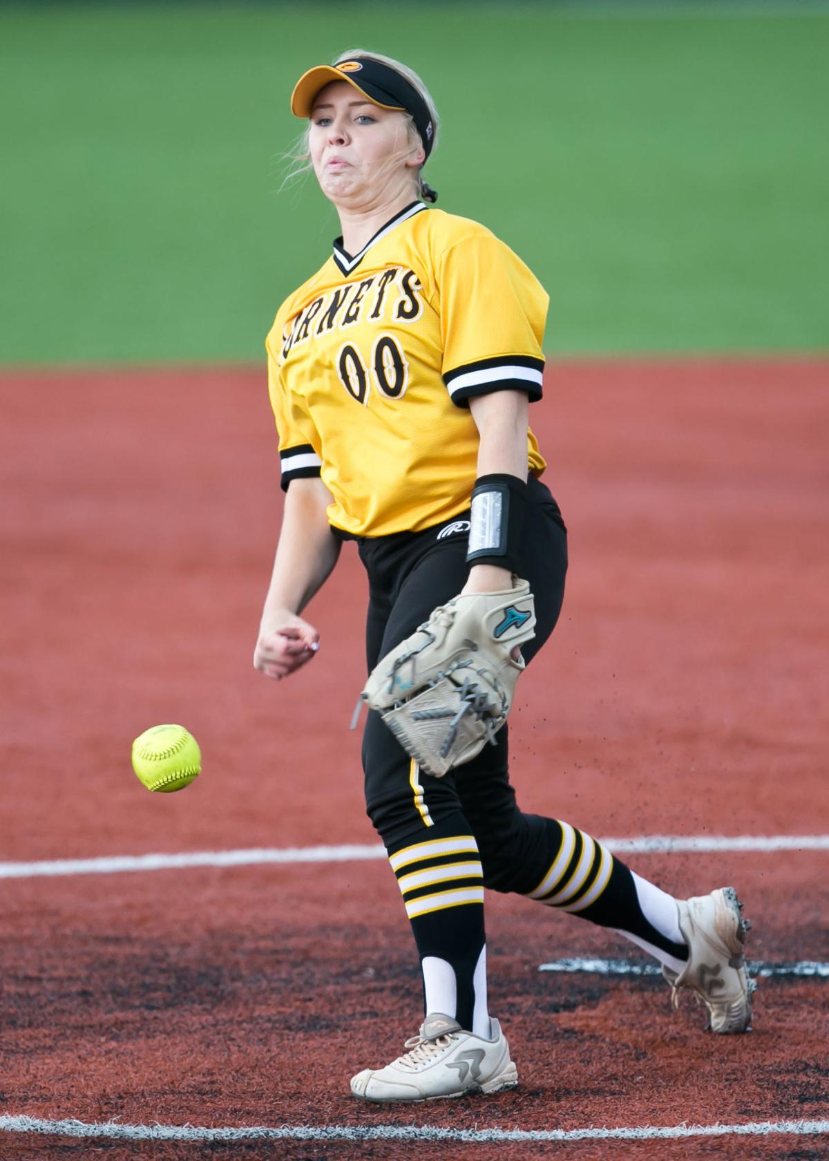 Gatesville vs. Liberty Hill Softball game 2 of the area round Playoffs