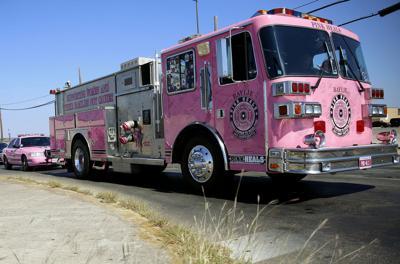 Pink Fire Truck