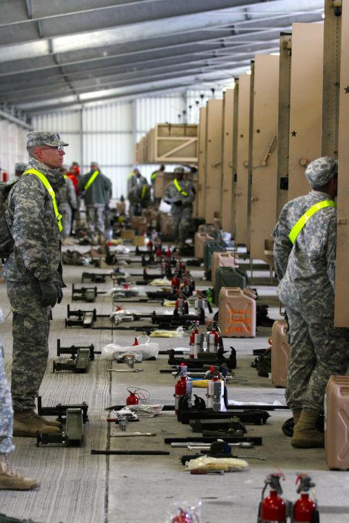 Inspecting equipment