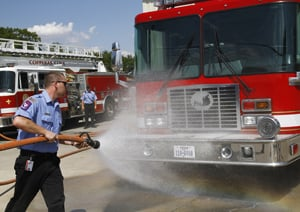 Residents, officials celebrate new fire truck