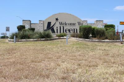 Killeen welcome sign