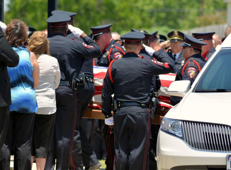 """Detective Charles """"Chuck"""" Dinwiddie Funeral"""