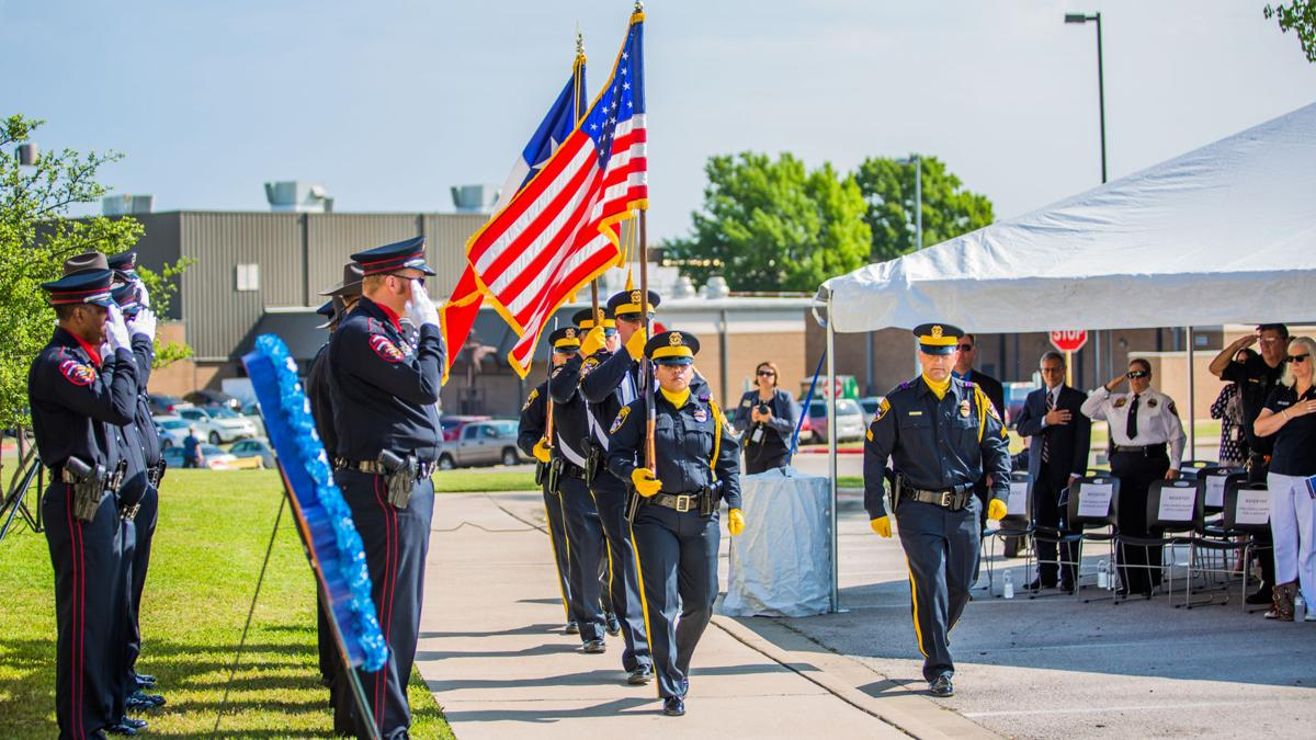 Central Texas law enforcement comes together in remembrance