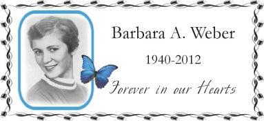 Barbara A. Weber
