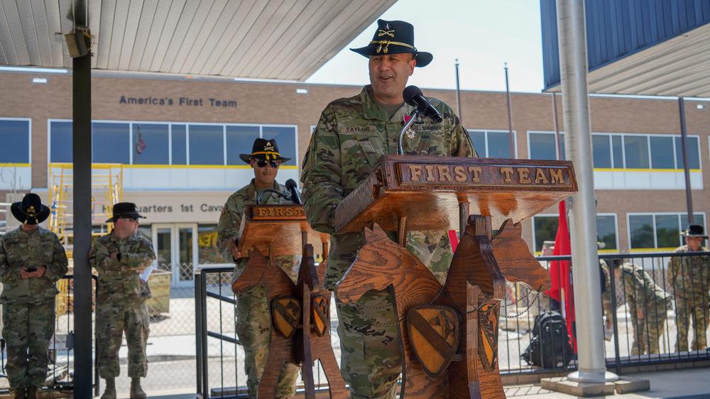 Brig. Gen. William D. Taylor, Deputy Commanding General – Maneuver