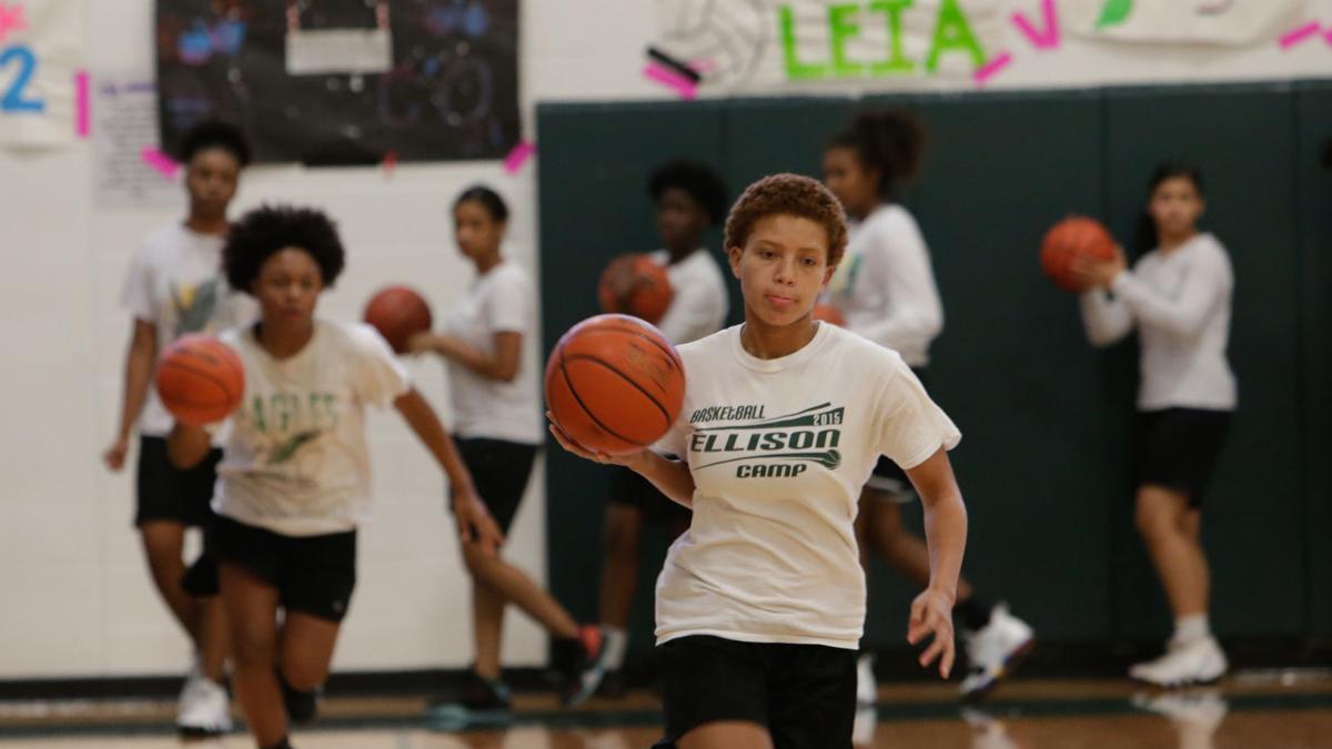 Girls basketball teams begin practicing for upcoming season