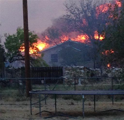 Texas Panhandle wildfire