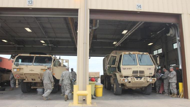 Carter announces funding for motor pool reconstruction on Fort Hood