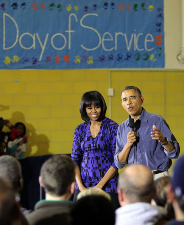 President Obama and National Day of Service