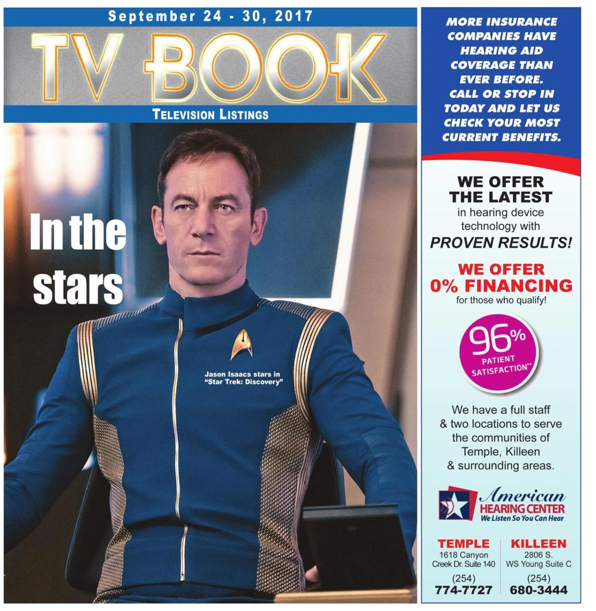 TV Book September 24th - 30th