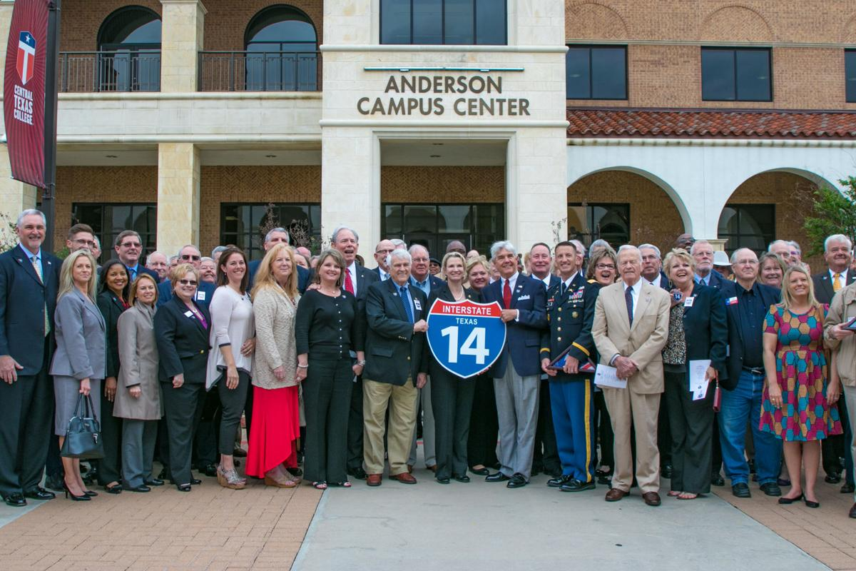 I-14 Unveiling and Great American Defense Community Ceremony