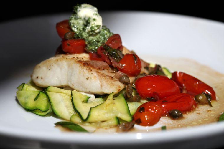 Healthy fish recipe