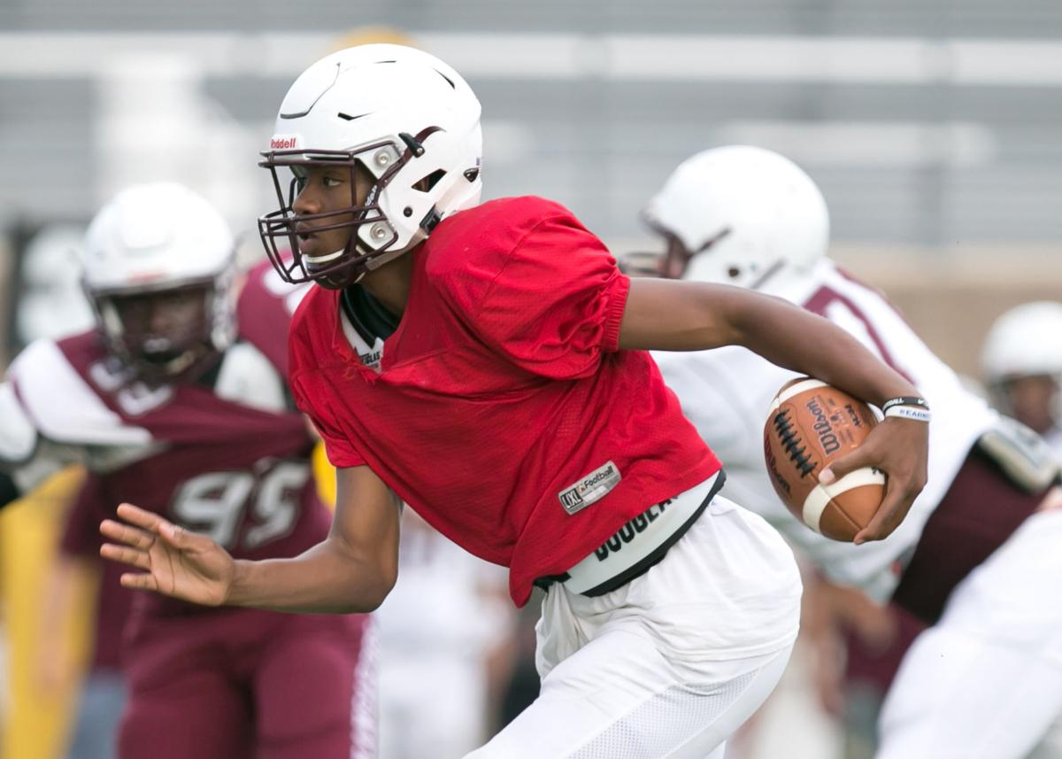 Killeen High Maroon and White Spring Football game