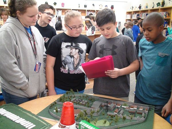 Cove students learn about the Holocaust