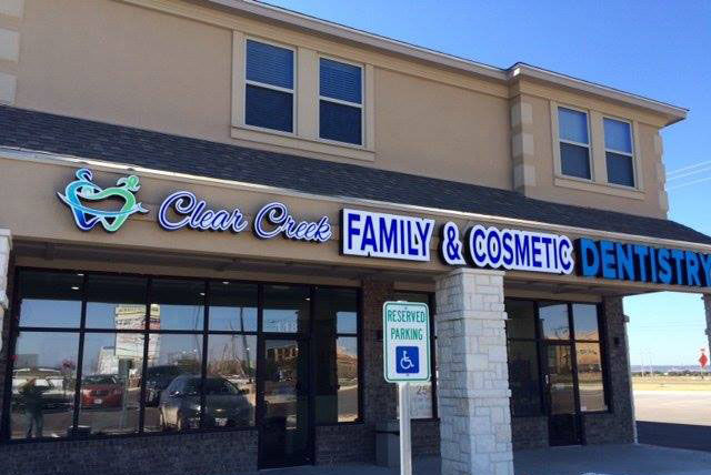 Clear Creek Family & Cosmetic Dentistry Storefront