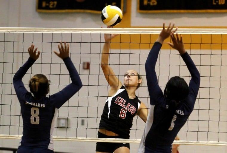 Volleyball: Shoemaker vs. Salado 8.25.12