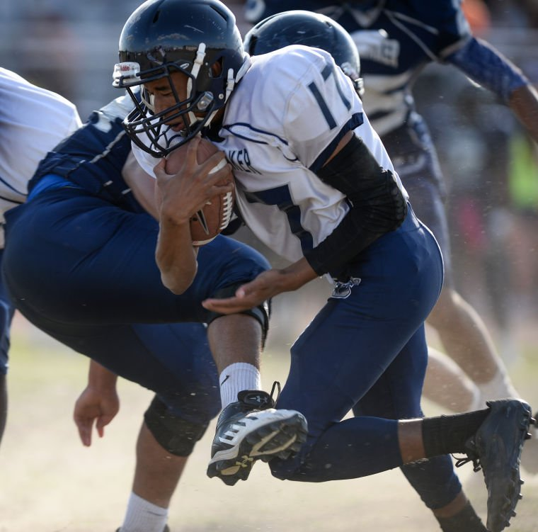 Shoemaker football spring game