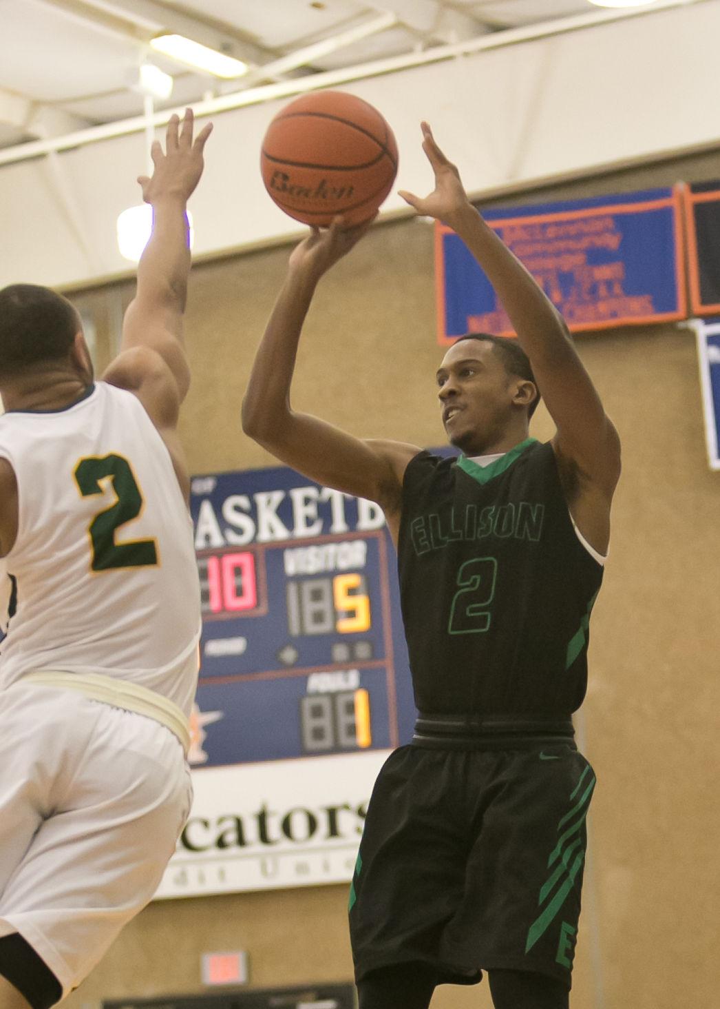 Ellison vs. DeSoto Boys Basketball Bi-District Playoff