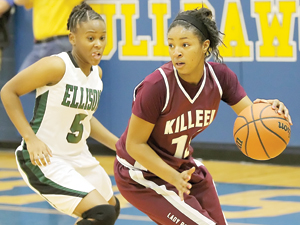 Lady Knights roll; Ellison tops Killeen