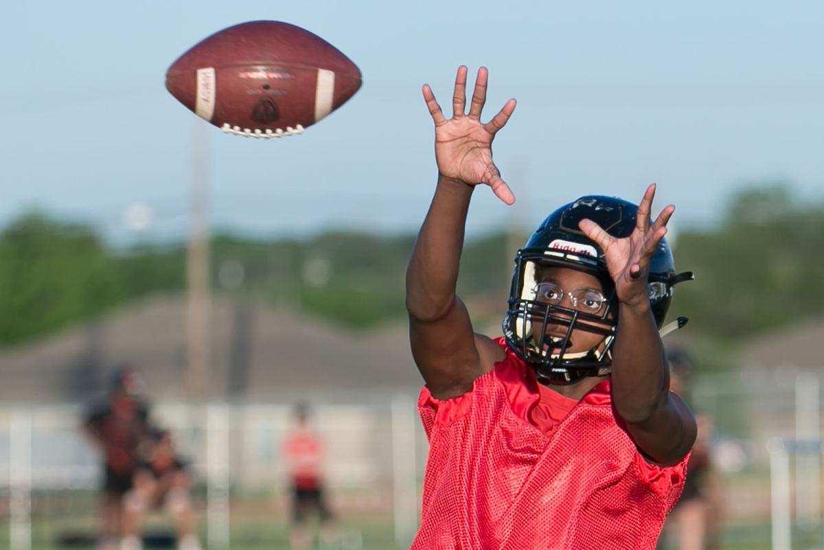 Harker Heights first day of Spring Football-1