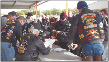 500 ride in toy run to help Peaceable Kingdom retreat