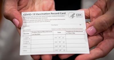 Vaccination card ban