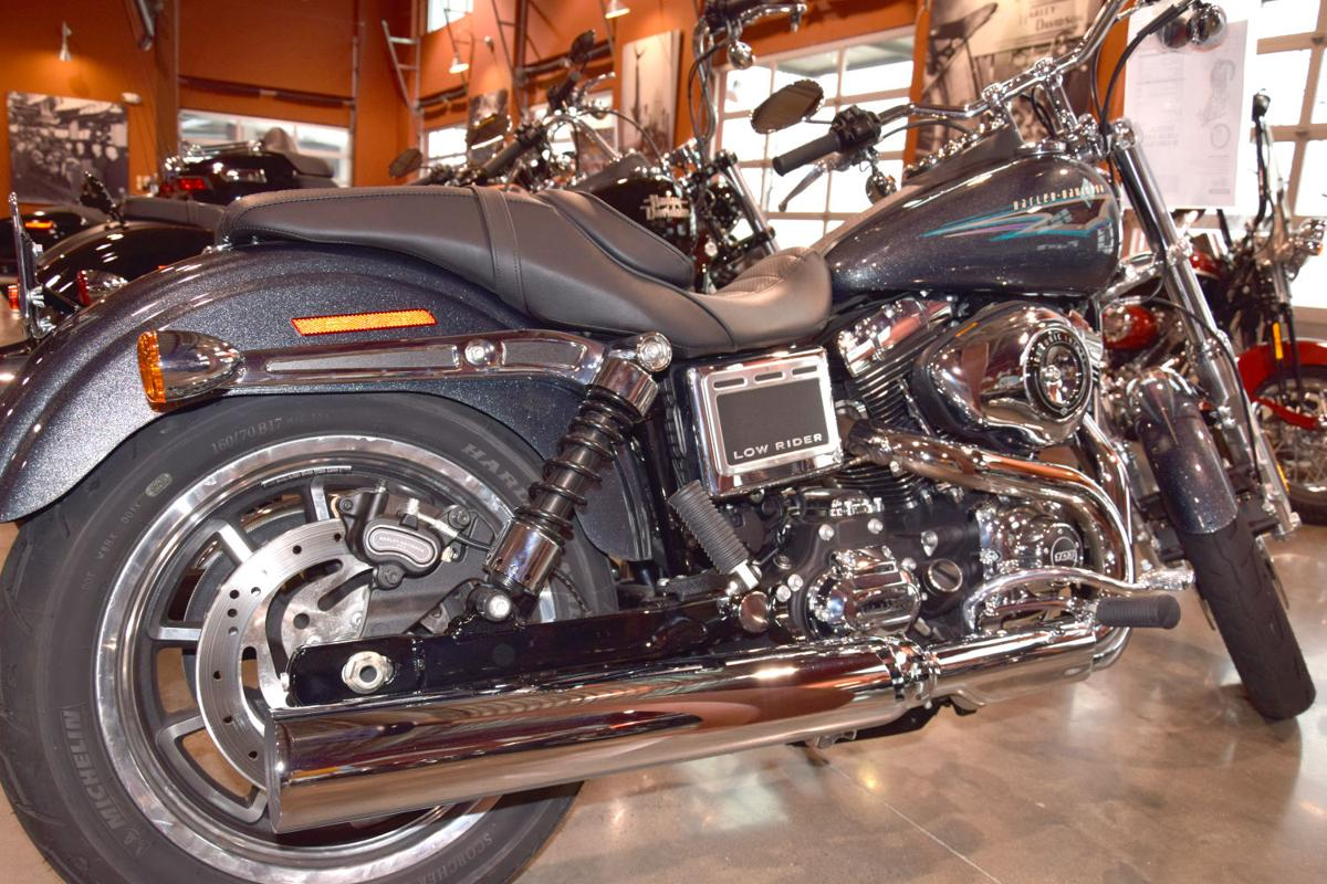 Best on the road business kdhnews a 2015 harley davidson dyna low rider sits in the horny toad harley davidson in temple ready for a ride kristyandbryce Image collections