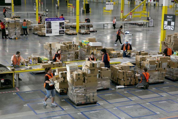 Amazon 'sortation center'