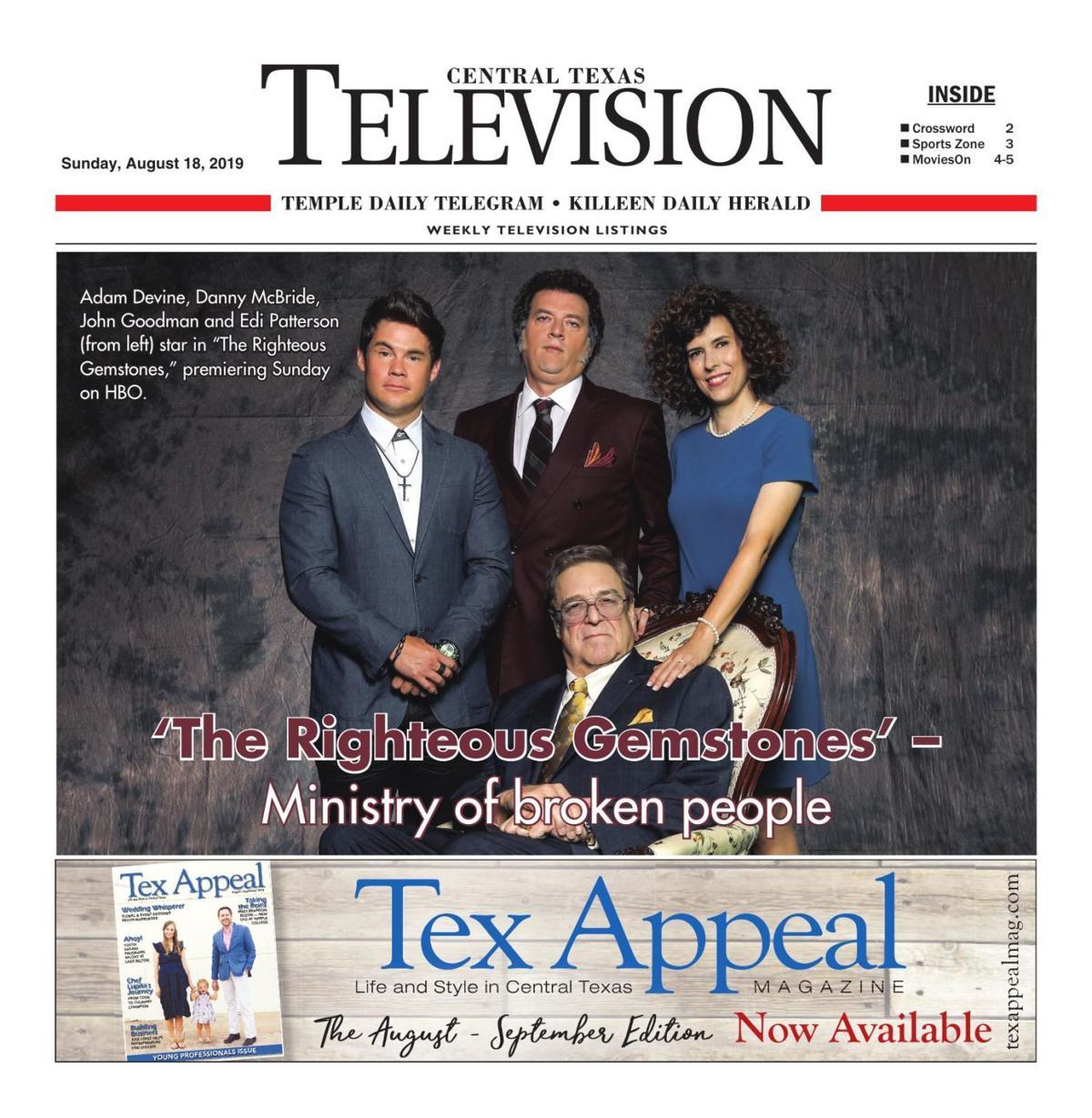 TV Book August 18th- 24th