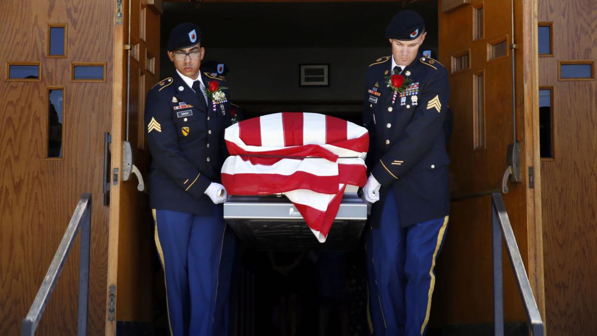Staff Sgt. Miguel Angel ColonVazquez Funeral