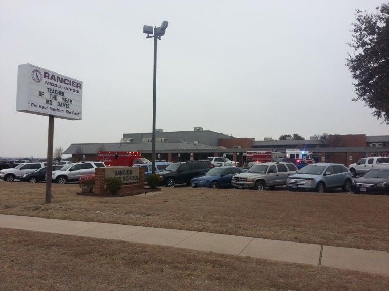 Rancier Middle School Fire