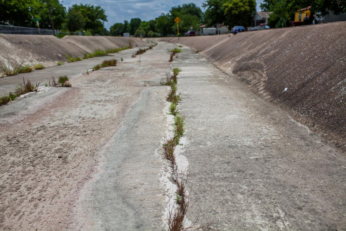 Valley Road ditch