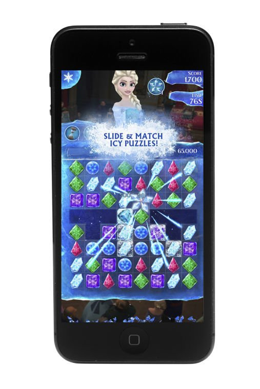 Frozen Free Fall app