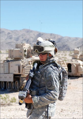 3rd Armored Cavalry attacks NTC before Iraq deployment