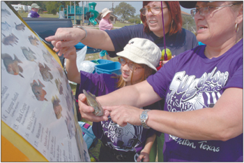Fourth-graders fish at BLORA