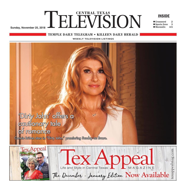 TV Book Nov. 25th- Dec. 1st