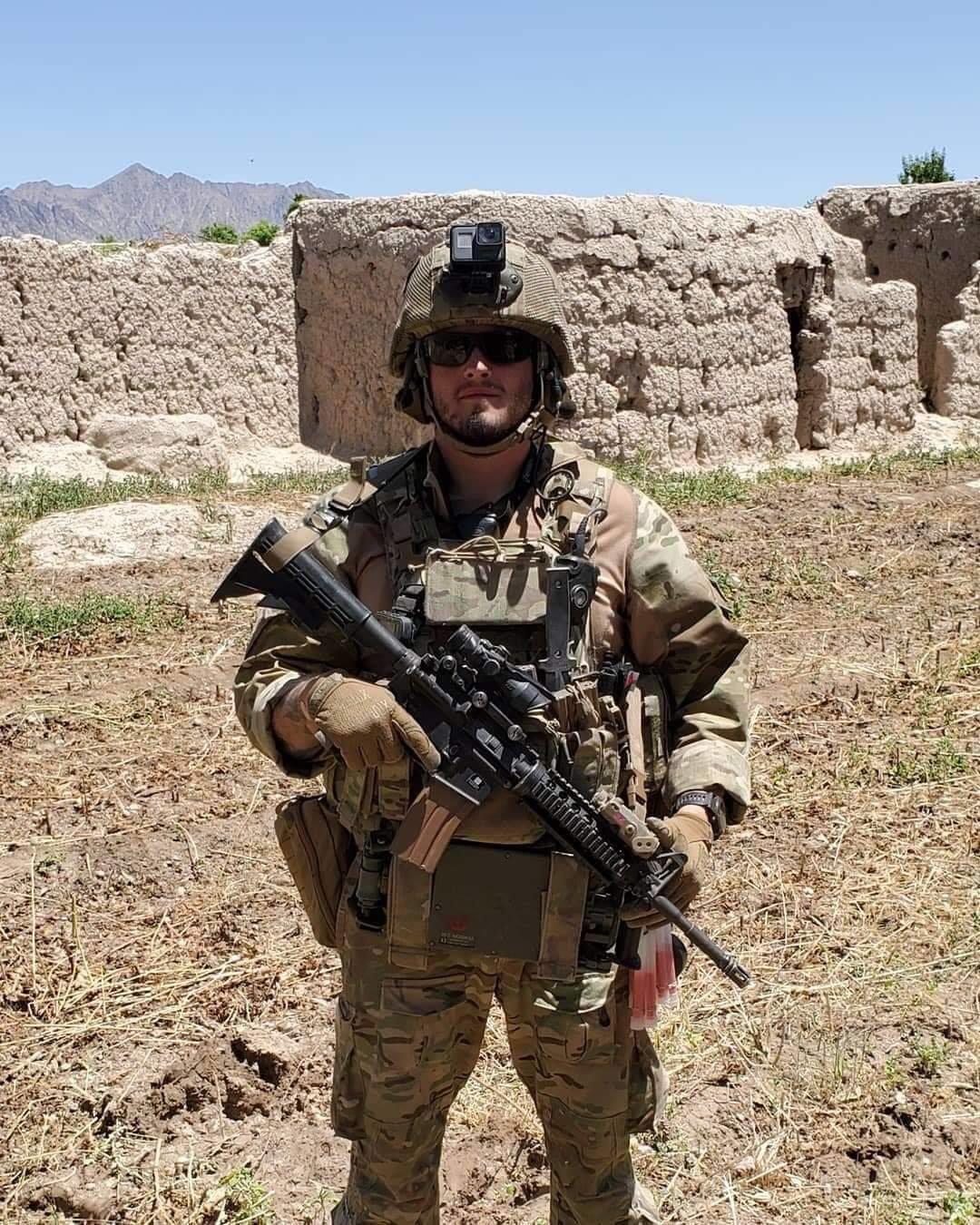 Sgt. Johnston Afghanistan