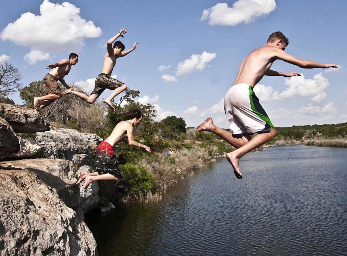 Belton Lake cliff diving is federal violation | News