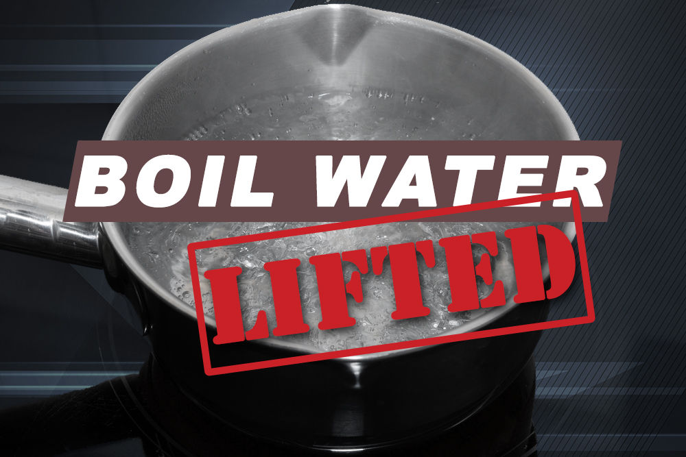 Boil water order lifted for properties on Killeen street