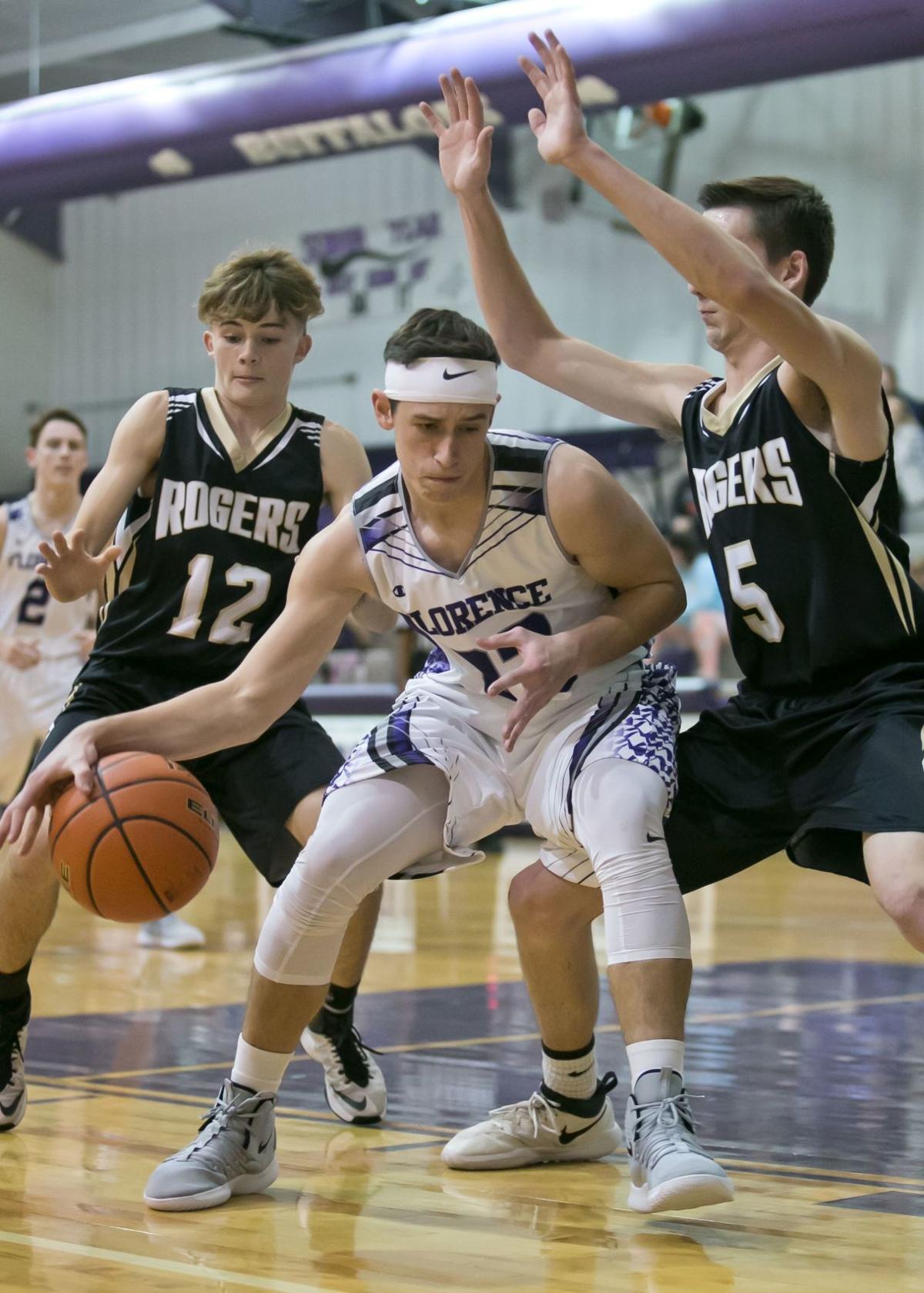 Rogers vs. Florence Boys Basketball tournament-4