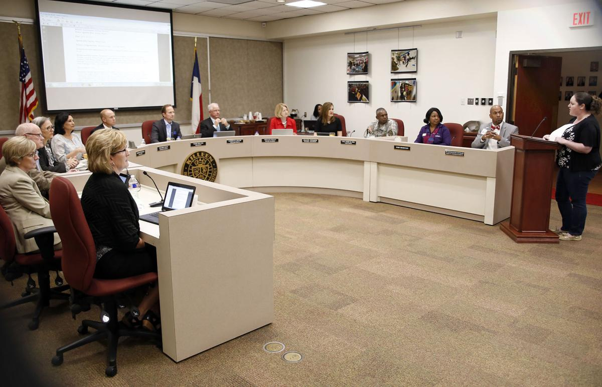 KISD board meeting