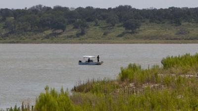 Search at Belton Lake